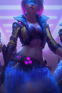 1440x2960 New Moon Pele Skin Smite