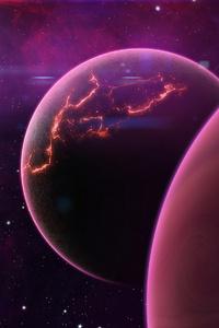 800x1280 New Planet Universe 4k
