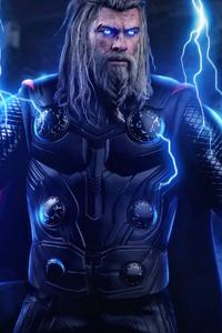 640x960 New Thor 4k Avengers Endgame