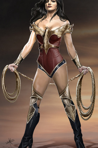New Wonder Woman Artwork
