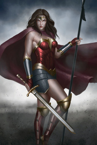 540x960 New Wonder Woman Artworks