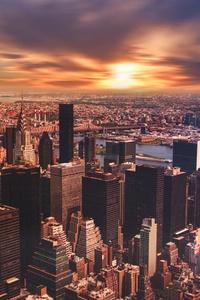 New York City Cityscape Skyscraper