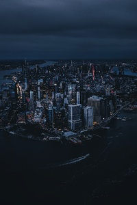 320x480 New York City Of America 4k