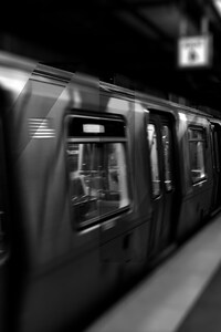New York City Underground Subway Train
