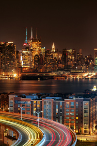 1280x2120 New York City View From New Jersey 4k At Night