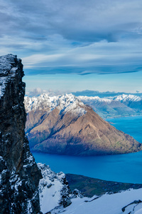 New Zealand Queenstown Mountain Range Lake 8k