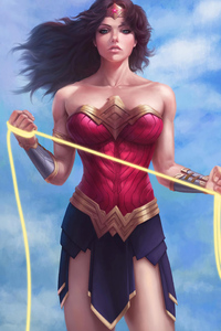 Newart Wonder Woman