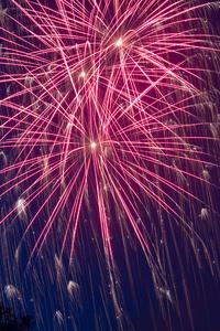 1242x2688 Newyear Fireworks Rocket Cologne Lights 5k