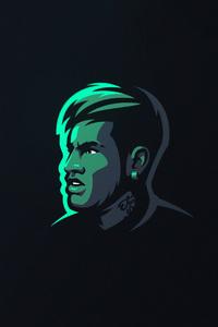 1080x2160 Neymar Art