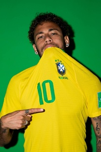 Neymar Jr Brazil Portraits 2018