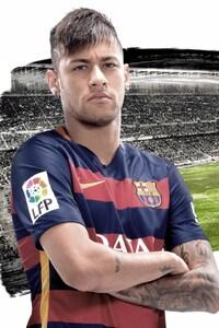1080x2160 Neymar Jr Fc Barcelona