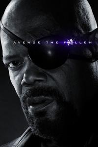 Nick Fury Avengers Endgame 2019 Poster