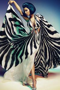 240x320 Nicki Minaj Dior