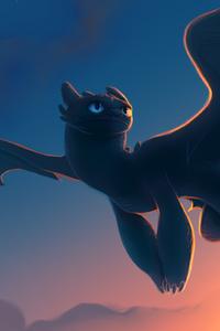 Night Fury Toothless 4k