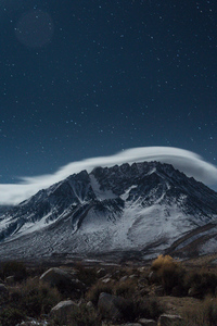 Night In The Eastern Sierra 4k