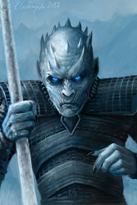 Night King Artwork 4k