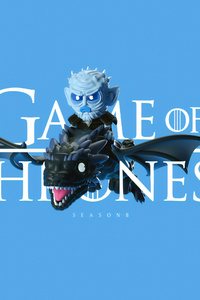 Night King Dragon Art