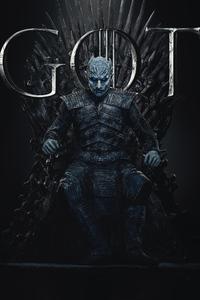 Night King Game Of Thrones Season 8 Poster