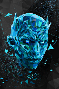 Night King Low Poly Art
