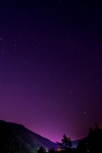 Night Sky Space 4k
