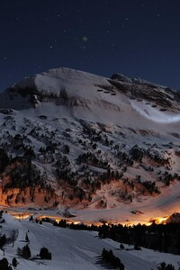 1080x2160 Night Star Alps