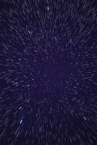 720x1280 Night Stars Pattern Lights 5k