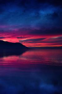 640x1136 Nightfall Evening