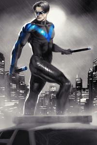 1440x2960 Nightwing 4k 2020
