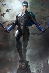 Nightwing 4k Art