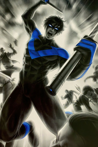 Nightwing 4k Artwork 2020