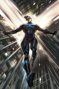 Nightwing Artwork 4k 2020