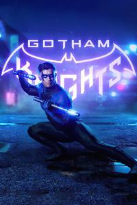 540x960 Nightwing Gotham Knight Cosplay 4k
