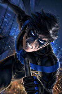480x800 Nightwing Newarts