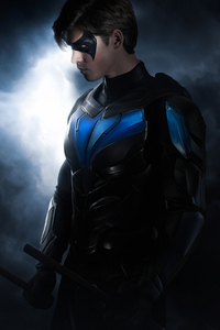 Nightwing Titans 4k