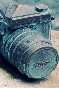 720x1280 Nikon Camera Vintage