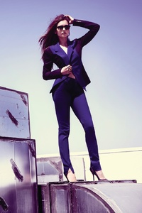 Nina Dobrev Fashion Magazine Photoshoot