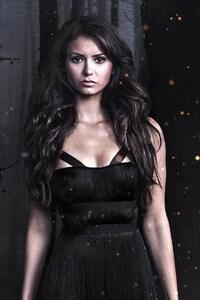 320x480 Nina Dobrev In Vampire Diaries