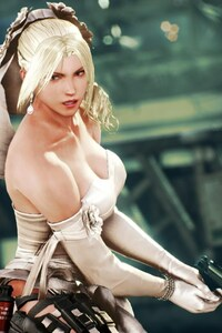 1242x2688 Nina Williams In Tekken 7