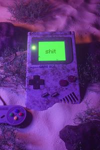 Nintendo Game Boy Falls In Water 4k