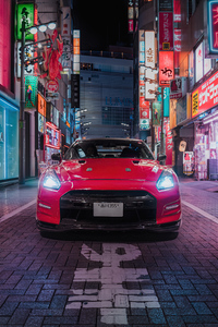 Nissan GT R In Tokyo 5k