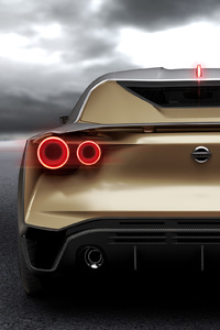 Nissan GT R50 Concept 2018 Rear View