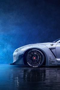 750x1334 Nissan Gtr 4k 2020 Car