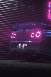 640x960 Nissan GTR 4k New 2019