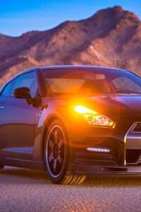 Nissan GTR In Desert