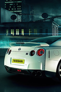 1280x2120 Nissan Gtr In Future