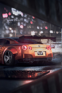 480x800 Nissan Gtr Need For Speed 4k