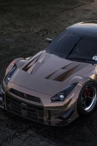 480x854 Nissan GTR Nismo 2020 4k