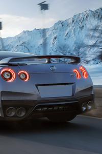 Nissan GTR Rear Cgi
