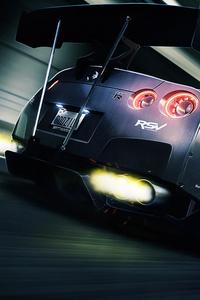 Nissan GTR Rear