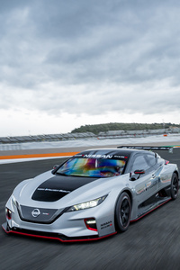 1080x1920 Nissan Leaf 5k